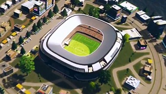 Video Cities: Skylines, Stadiums Content Pack (DLC)