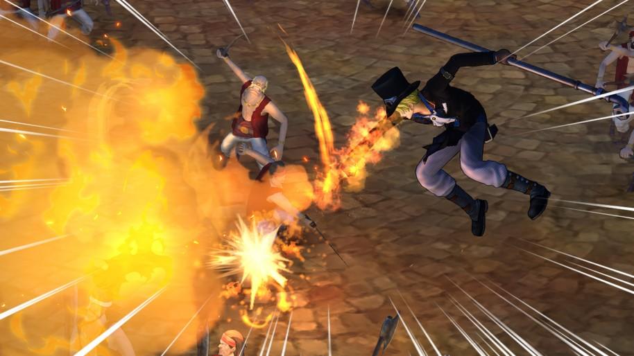 One Piece Pirate Warriors 3: One Piece Pirate Warriors 3: ¡Aventuras piratas manganime!