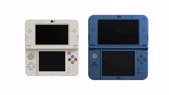 La New Nintendo 3DS.