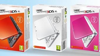 New Nintendo 3DS XL presenta 3 nuevos colores