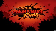 Carátula de Super Meat Boy Forever - Nintendo Switch
