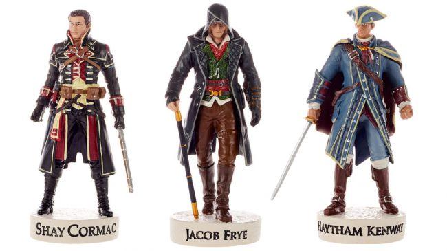 La Assassin's Creed Collection no es lo que pensabas: Ubisoft presenta una gama de muñecos de la serie