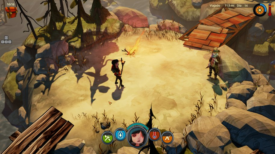 The Flame in the Flood Nintendo Switch