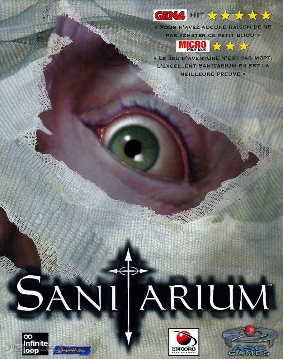 Portada del juego Sanitarium