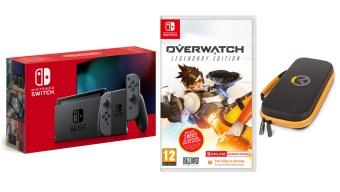 Gana un pack compuesto por Overwatch y una Nintendo Switch con 3DJuegos