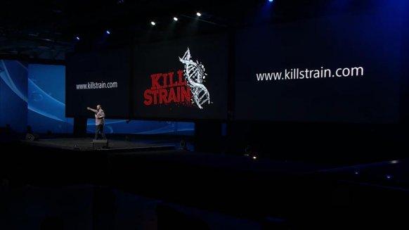 Momento de la presentación del videojuego en la PlayStation Experience.