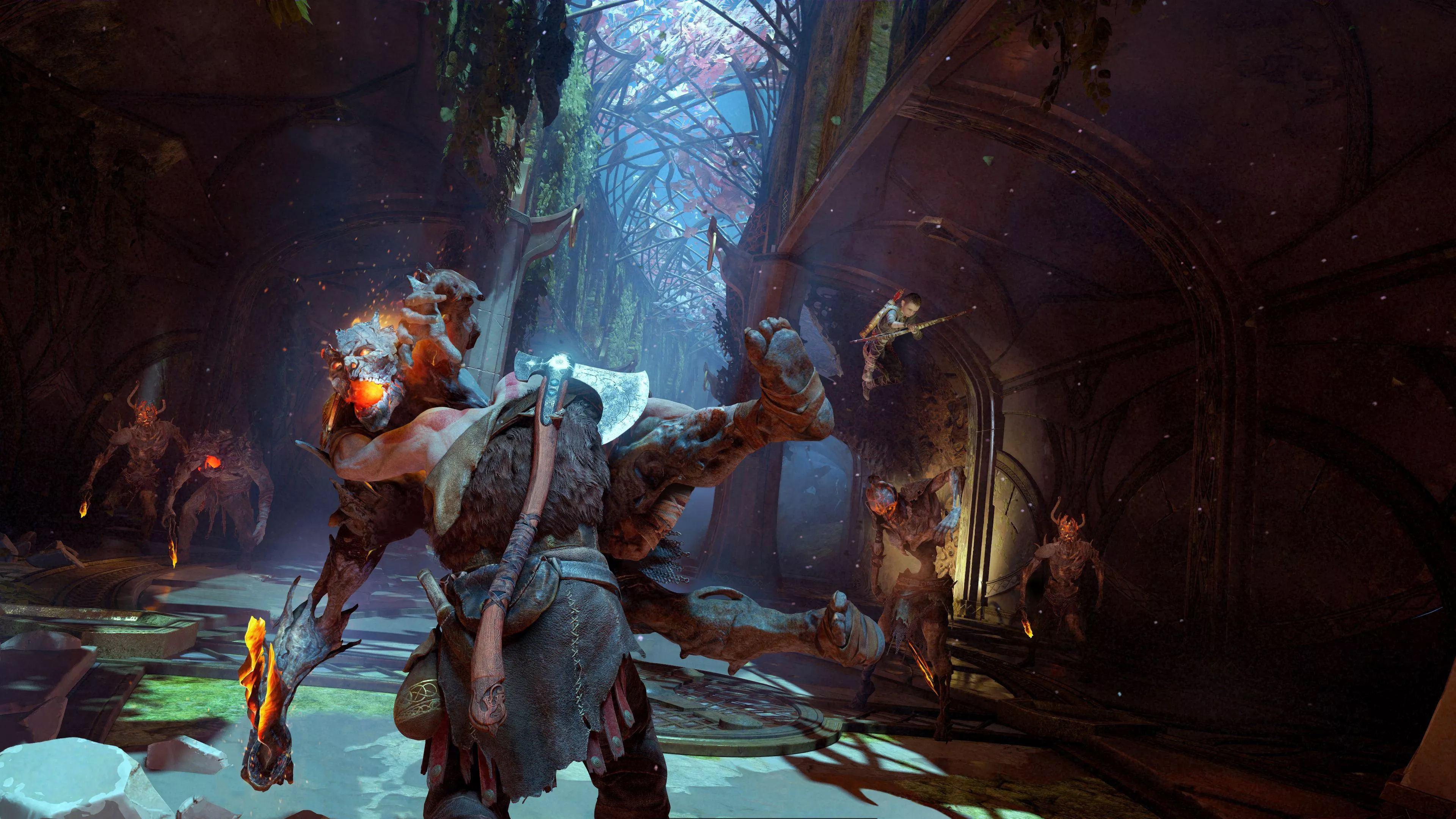 Nuevos detalles del combate y la mecánica de God of War