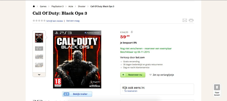 Algunos Comercios Comienzan A Listar Versiones De Call Of Duty