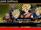 Dragon Ball Z Extreme Butoden - Pantalla