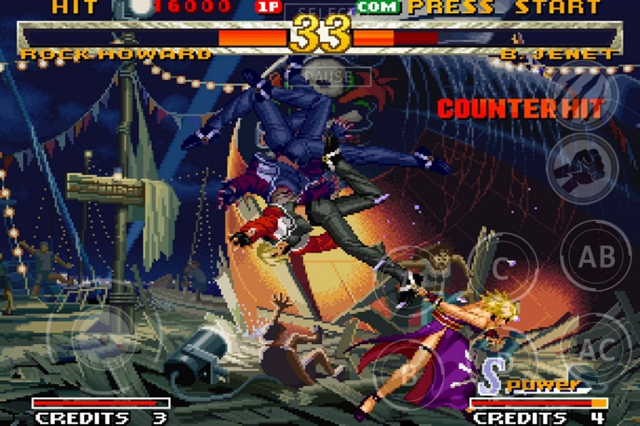 Garou Mark of the Wolves Android