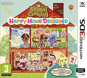 Carátula de Animal Crossing: Happy Home Designer - 3DS