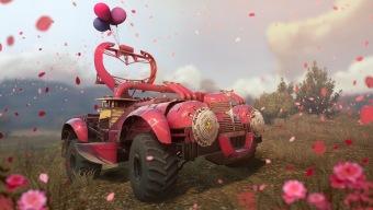 Crossout, el MMO gratis de coches de combate, celebra el Día de la Mujer con ramos blindados