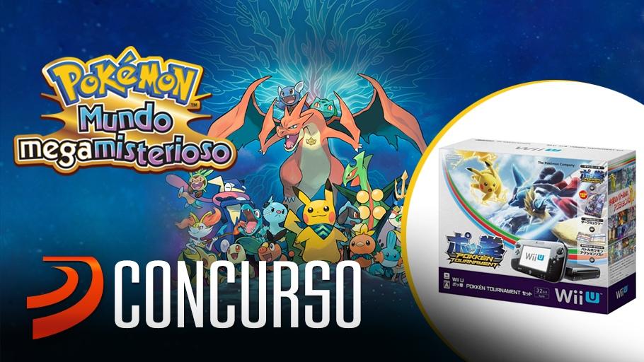 Sorteamos 10 Pokemon Mundo Mega Misterioso Y Una Wii U Premium Pack