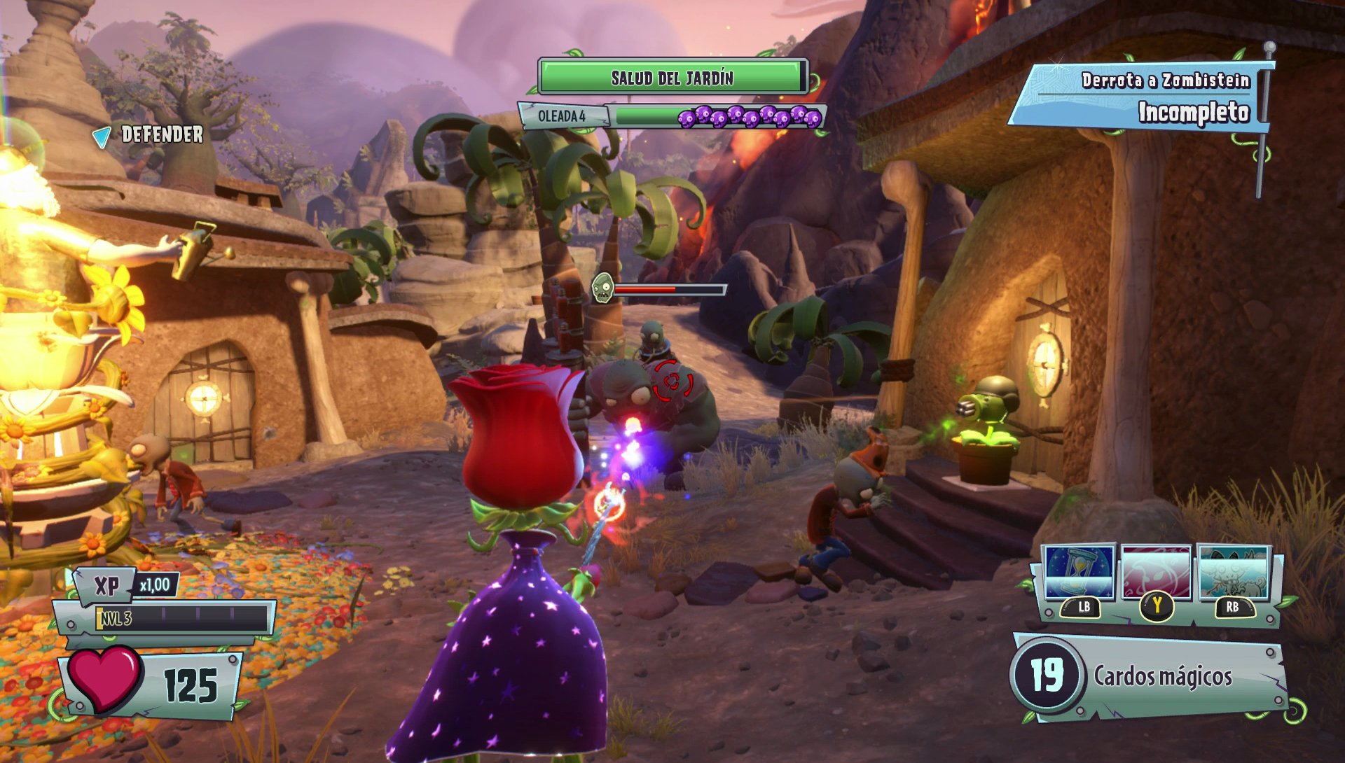 Im genes de plants vs zombies garden warfare 2 para pc for Plante vs zombie garden warfare 2