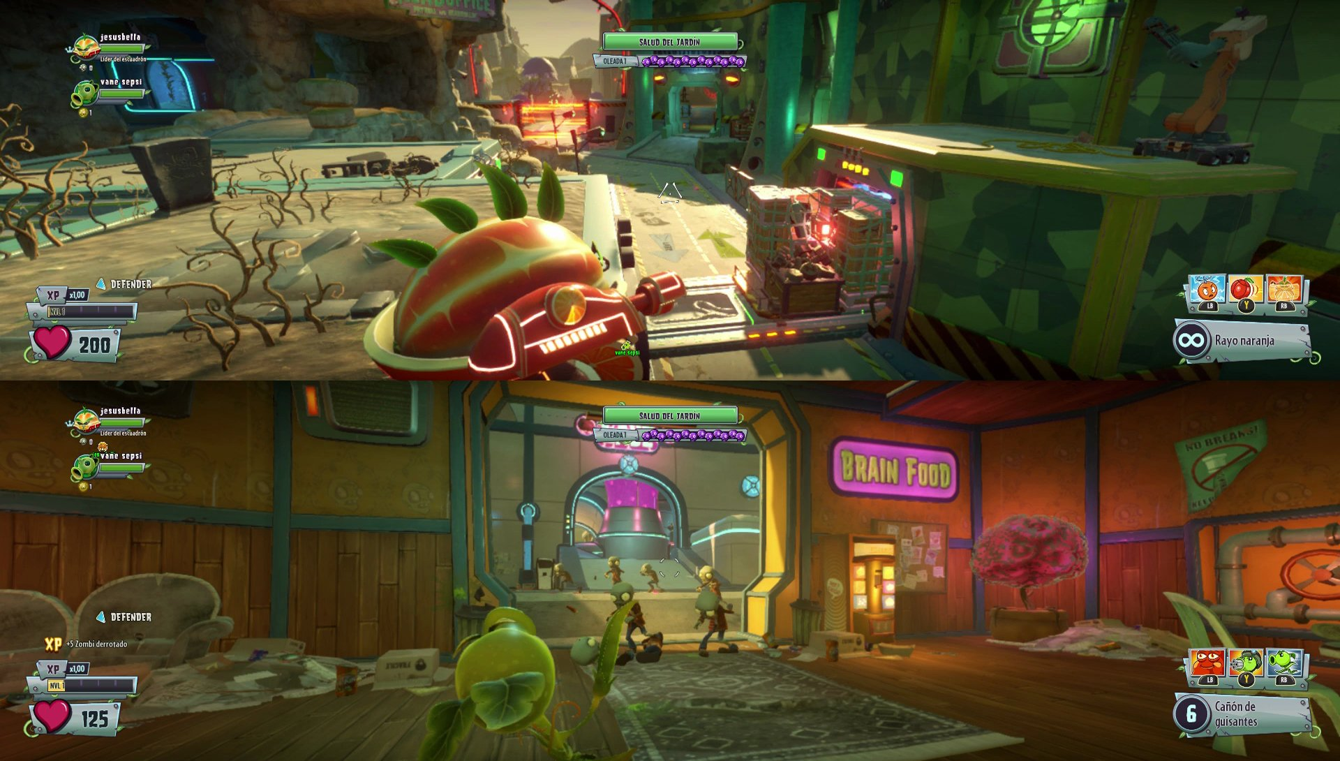 Im Genes De Plants Vs Zombies Garden Warfare 2 Para Ps4