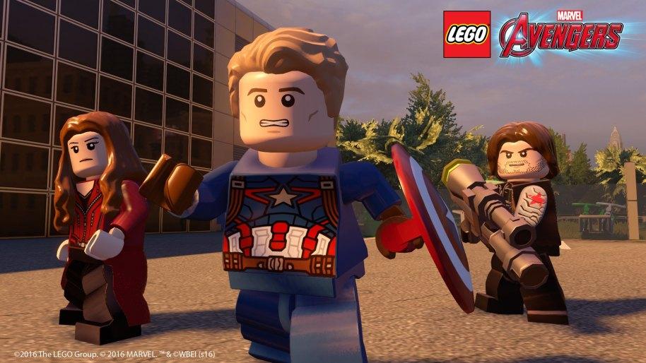 LEGO Marvel Vengadores PS3