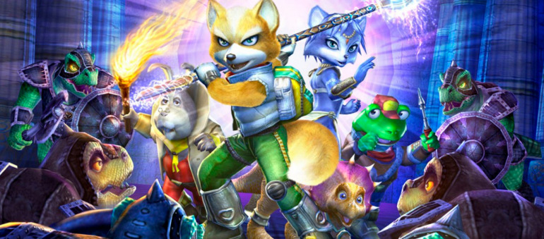 Star Fox Adventures de Game Cube fue el último videojuego de Rare con Nintendo.