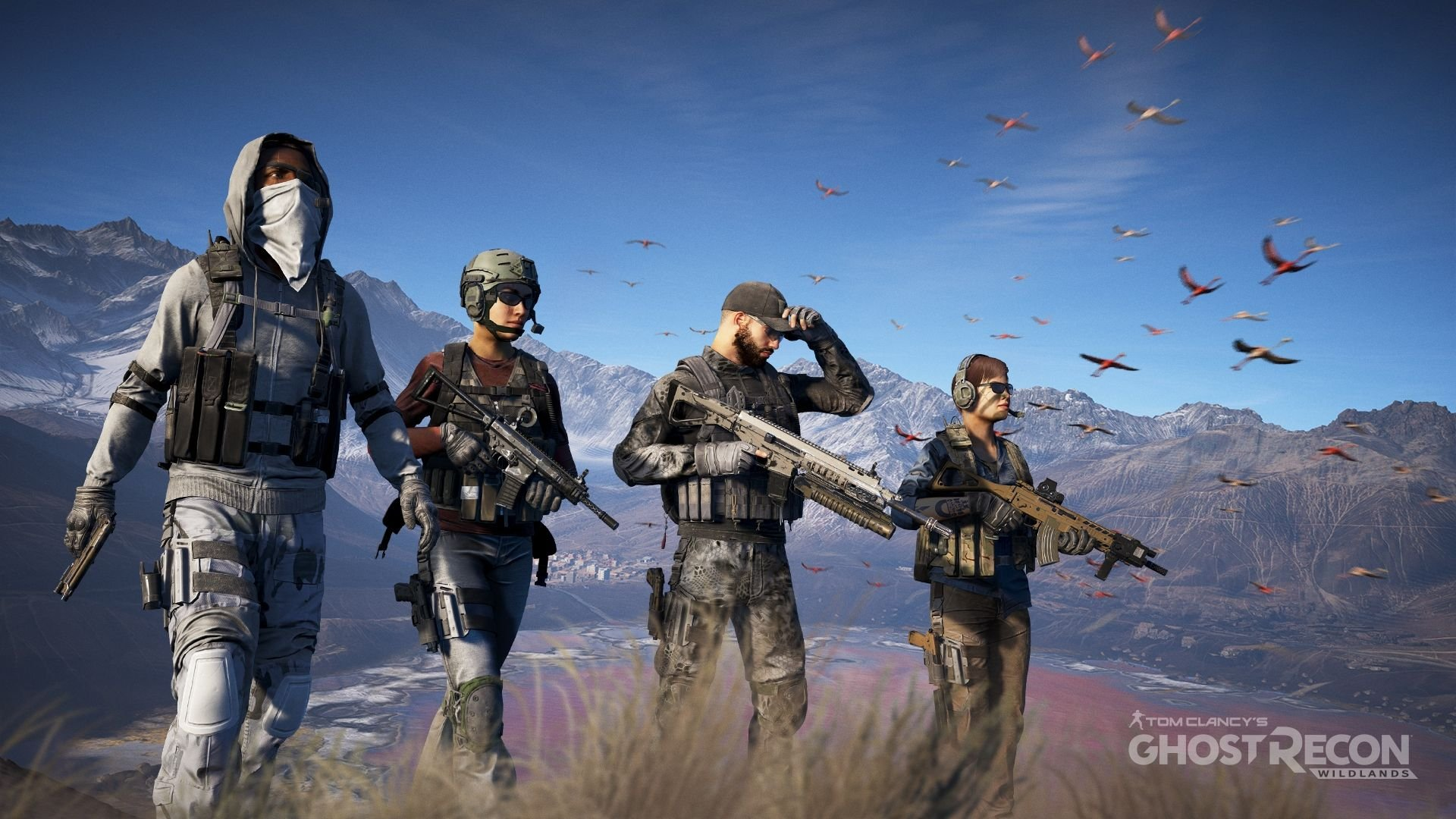 Resultado de imagen de tom clancy's ghost recon wildlands