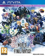 Carátula de World of Final Fantasy - Vita