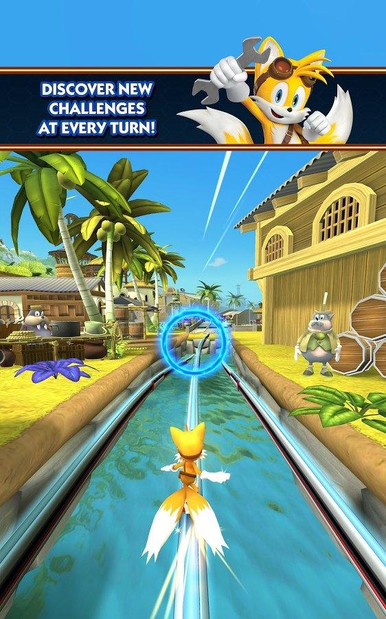 Sonic Dash 2 Sonic Boom análisis