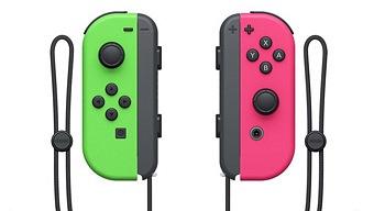Ya hay fecha para los Joy-Con verde y rosa neón de Nintendo Switch