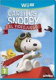 Carátula de Carlitos y Snoopy El Videojuego - Wii U