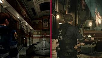 El nuevo Resident Evil 2 cara a cara con el original