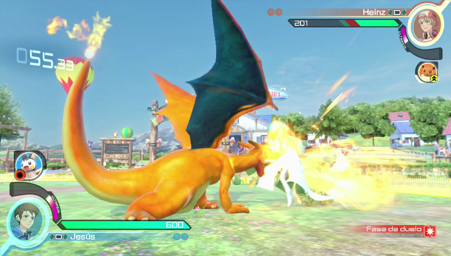 Analisis De Pokken Tournament Para Wii U 3djuegos