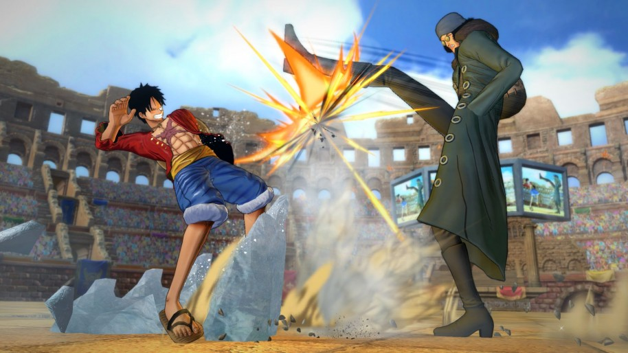 One Piece Burning Blood: One Piece Burning Blood: Lucha y ataques por equipos de 3