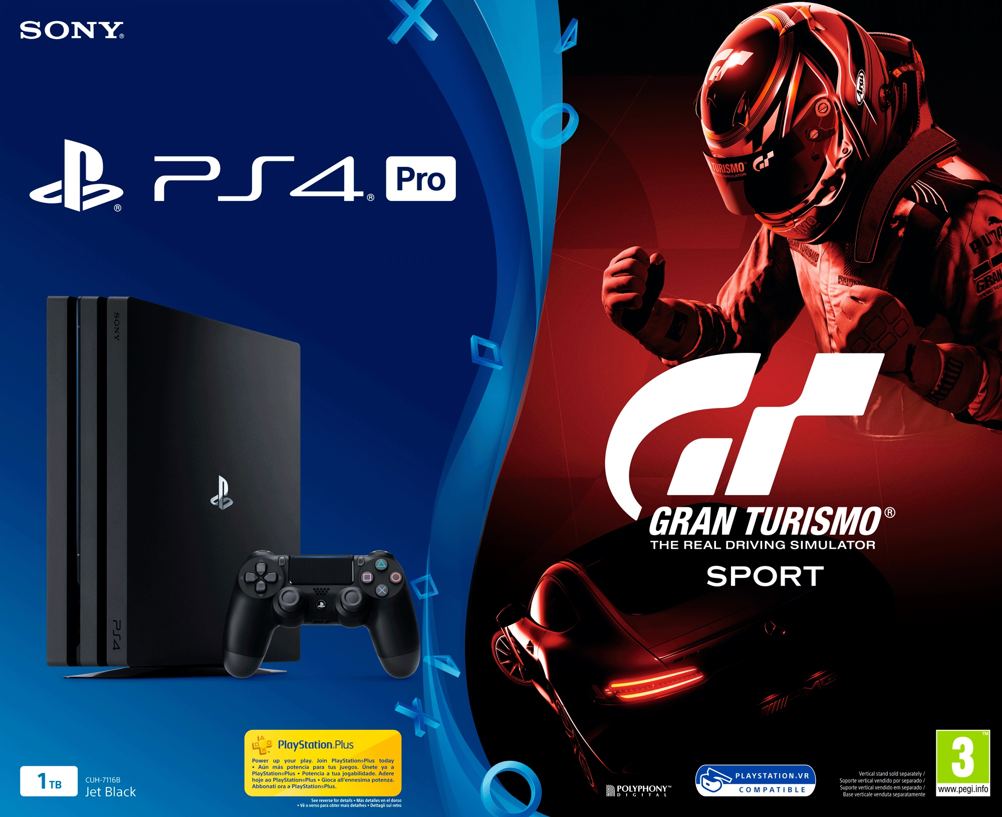 Ps4 Pro Gran Turismo Gaming Console Sony Playstation 4 Pro Gran
