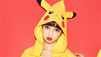 Pokémon presenta su línea de lencería femenina obra de Yummy Mart