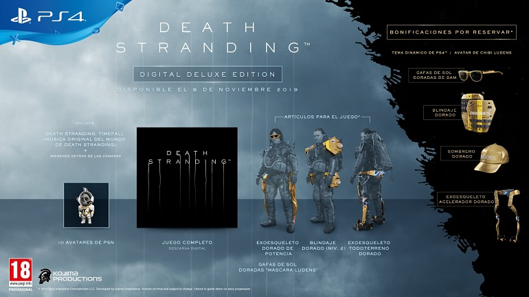 Death Stranding - Edición Digital Deluxe