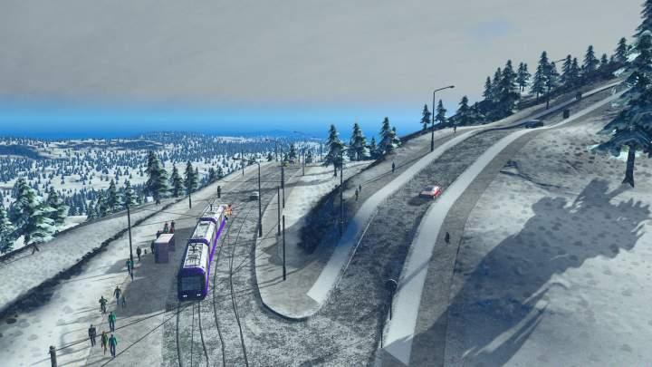 Cities Skylines - Snowfall - Pantalla