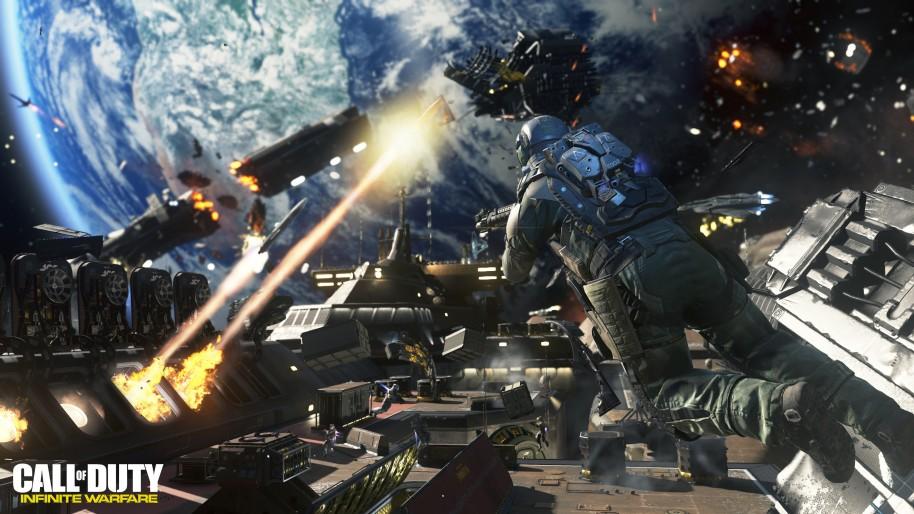 Call of Duty Infinite Warfare: Call of Duty Infinite Warfare: Acción, espacio, gancho y multijugador