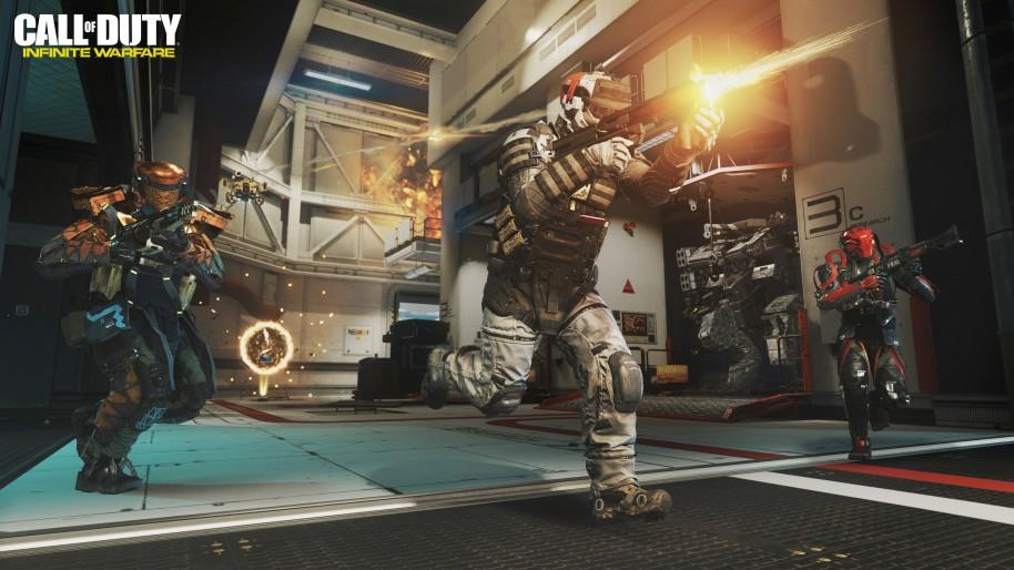 Call of Duty Infinite Warfare: Call of Duty Infinite Warfare: Multijugador muy CoD