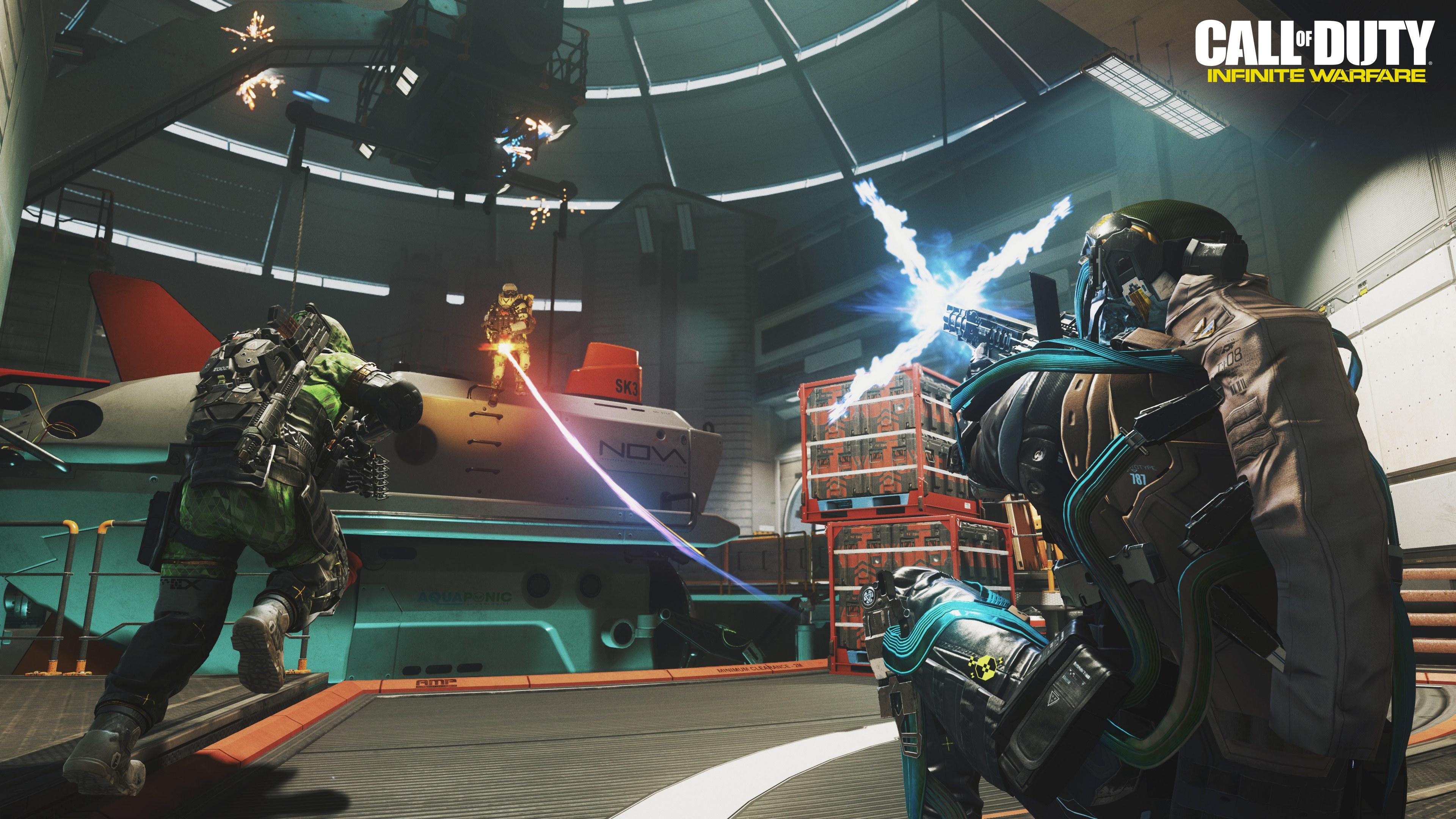 Call Of Duty Vr Gratis Para Los Compradores De Infinite Warfare En