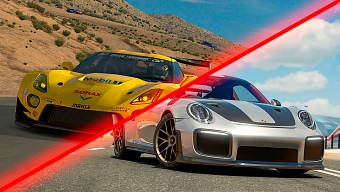 GT Sport vs Forza 7 vs DriveClub vs Project CARS 2