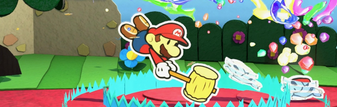 Análisis Paper Mario Color Splash