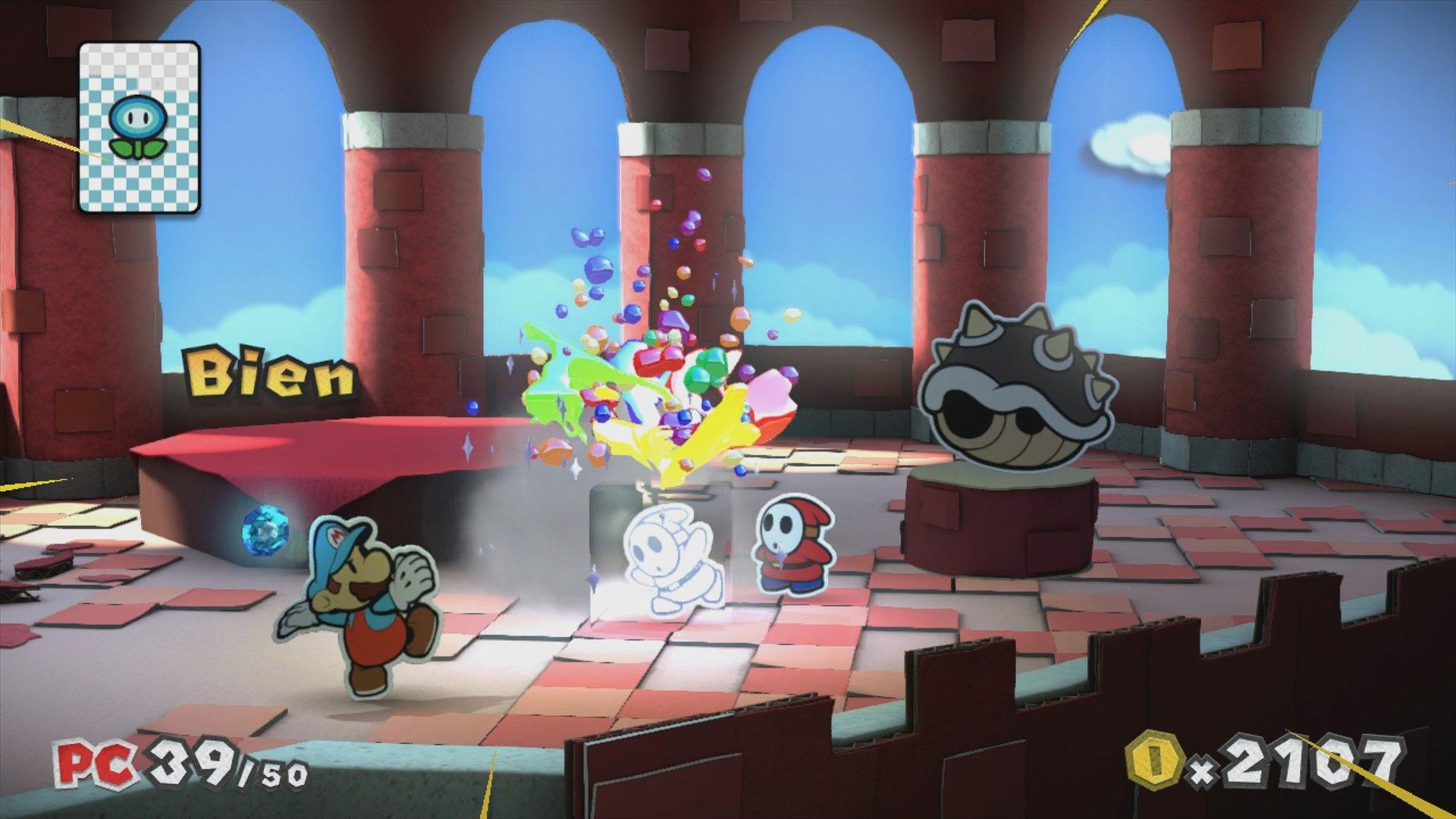 Análisis de Paper Mario Color Splash para Wii U - 3DJuegos