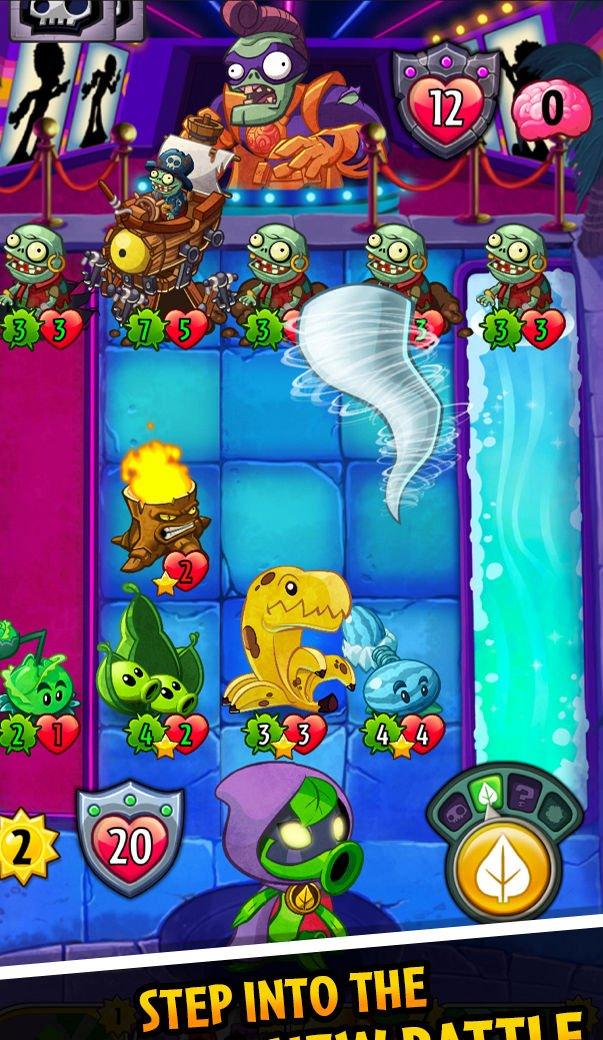 Im genes de plants vs zombies heroes para android 3djuegos for Cuartos decorados de plants vs zombies
