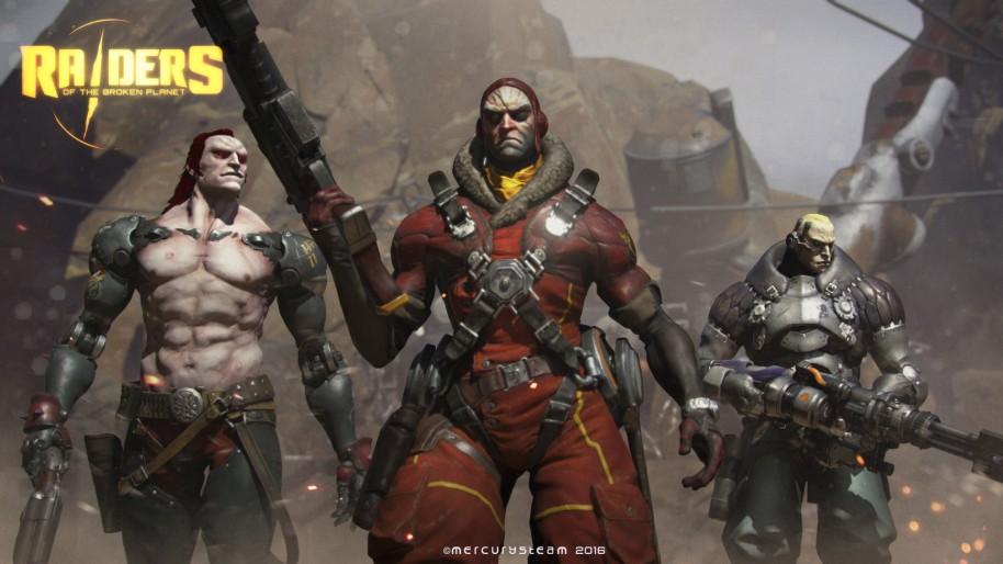 Spacelords: Raiders of the Broken Planet: Aventura contraoperativa multijugador