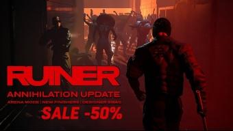 El juego cyberpunk Ruiner confirma su lanzamiento en Nintendo Switch