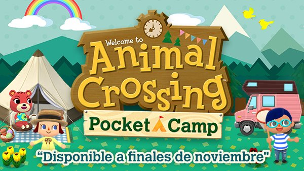 Nintendo presenta Animal Crossing: Pocket Camp para móviles