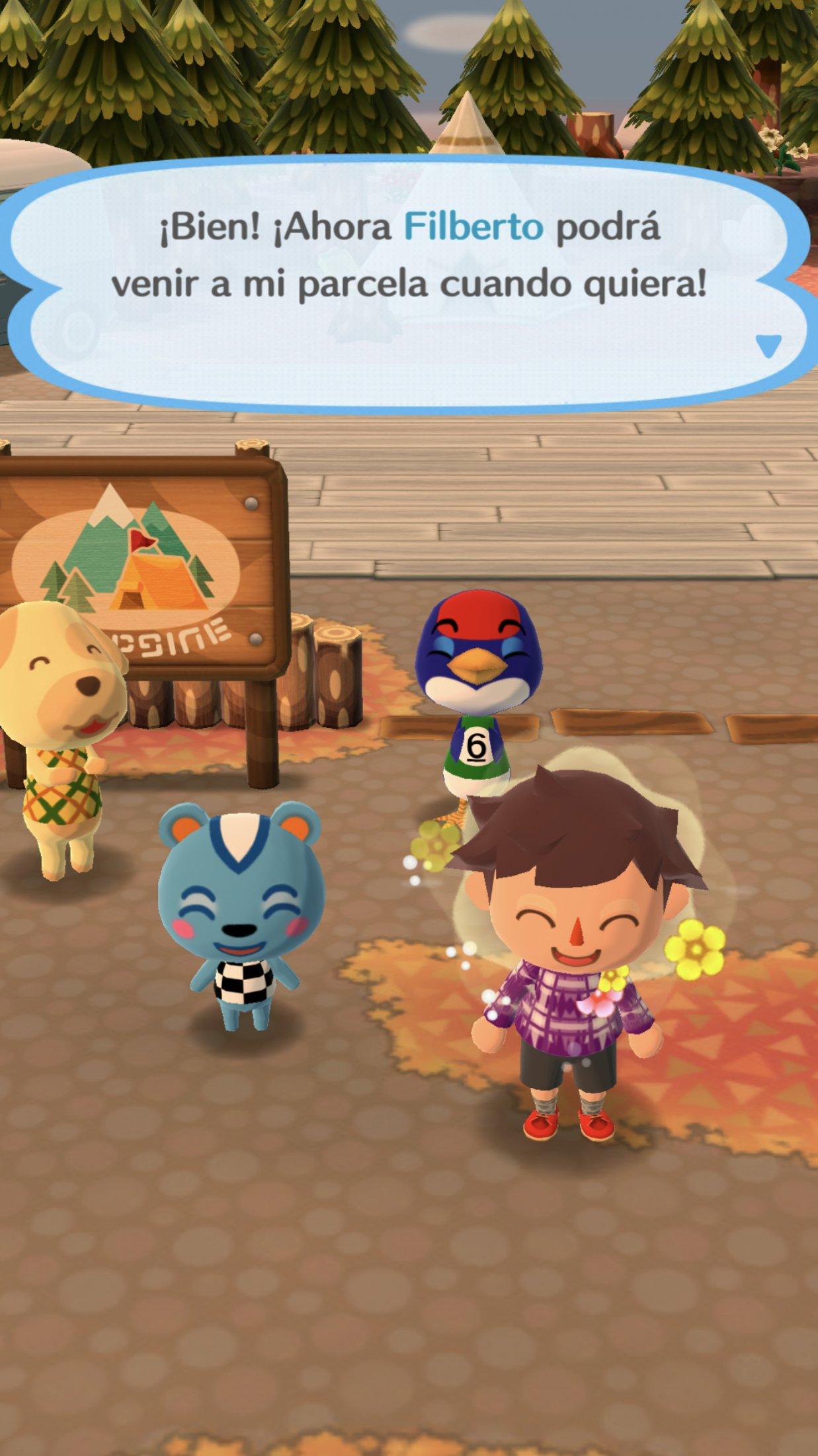 An Lisis De Animal Crossing Pocket Camp Para Android 3djuegos # Muebles Festivos Animal Crossing