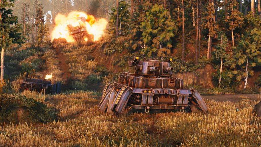 Iron Harvest: Jugamos a Iron Harvest, imagina Company of Heroes en clave dieselpunk y con robots gigantes