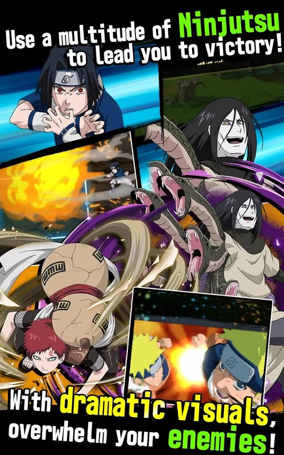 Naruto Ultimate Ninja Blazing iOS