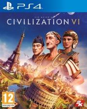 Carátula de Civilization VI - PS4