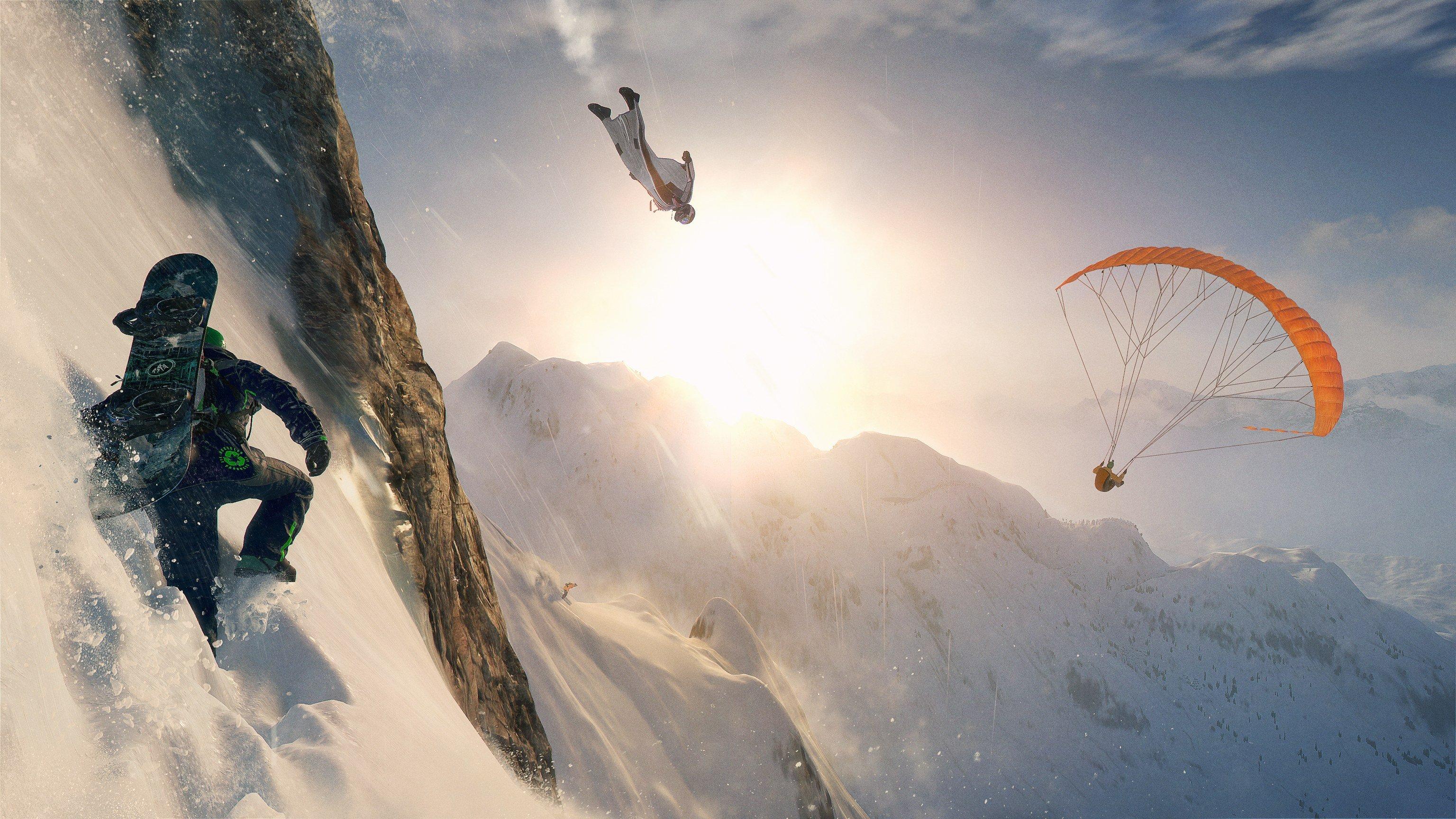 Steep Montana Deportes Extremos Y Nieve Pc Ps4 Xone
