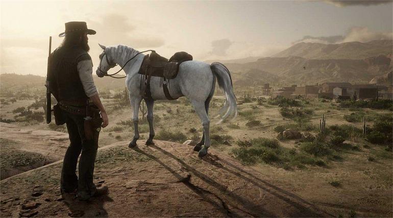 Resultado de imagen de red dead redemption caballo arabe