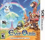 Carátula de Ever Oasis - 3DS